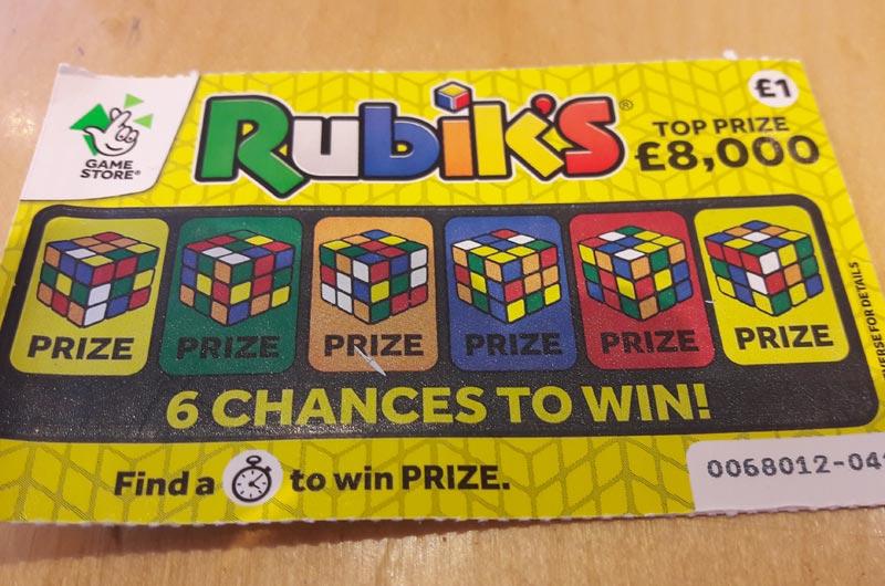 Rubikscard