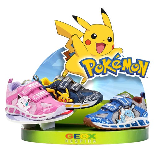 Pokémon partners with Geox for new collection | Licensing Source