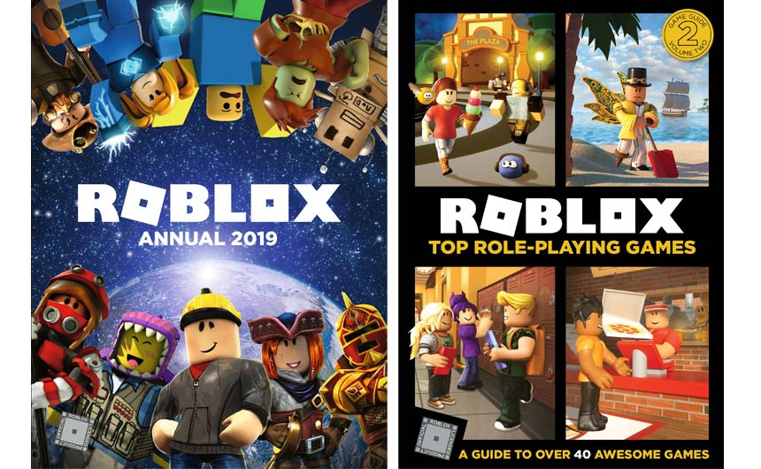 Egmont launched with a tight range of three titles for Roblox, supported across the book trade.