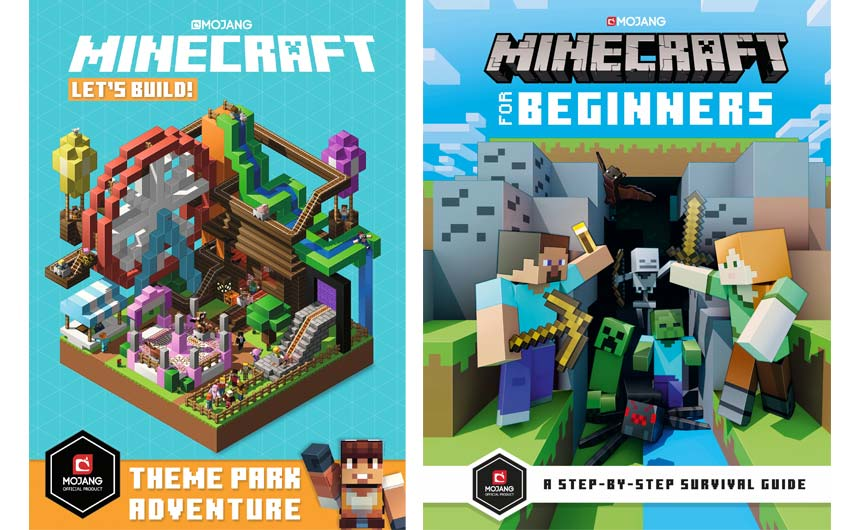 Over seven million Minecraft books have now sold in the UK.