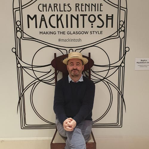 The Charles Rennie Mackintosh exhibition at the Walker Art Gallery in Liverpool is well worth a visit.