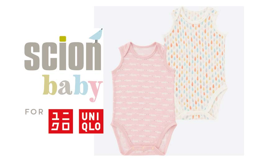 The new Scion Baby line features popular prints Lintu, Whale of a Time, Eloisa and Mr Fox.