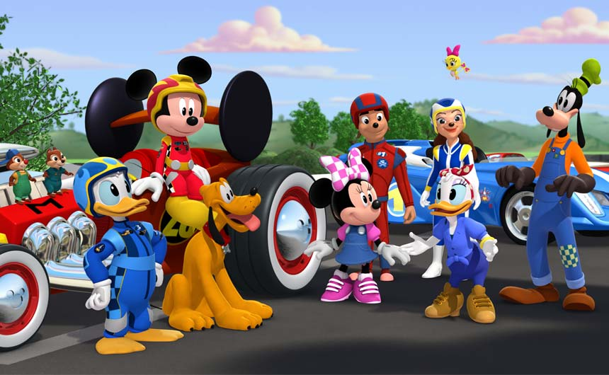 Mickey and the Roadster Racers is a popular franchise show for Disney Junior.