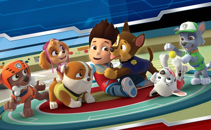 PAW Patrol remains a key show for Nickelodeon going through 2019.