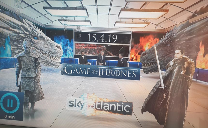 Game of Thrones has been well supported by Sky across its media platforms.