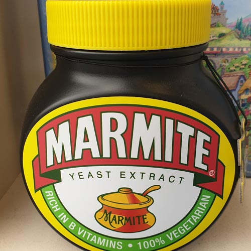 Gibsons has invested in custom packaging such as the signature Marmite jar.
