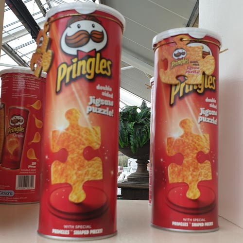 Pringles is just one of the licences that Gibsons works with.