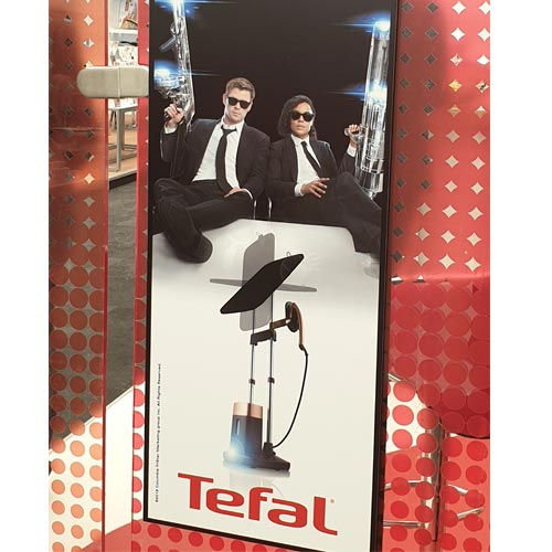 Tefal was showcasing a promotional link with Men in Black at the Exclusively Shows this week.