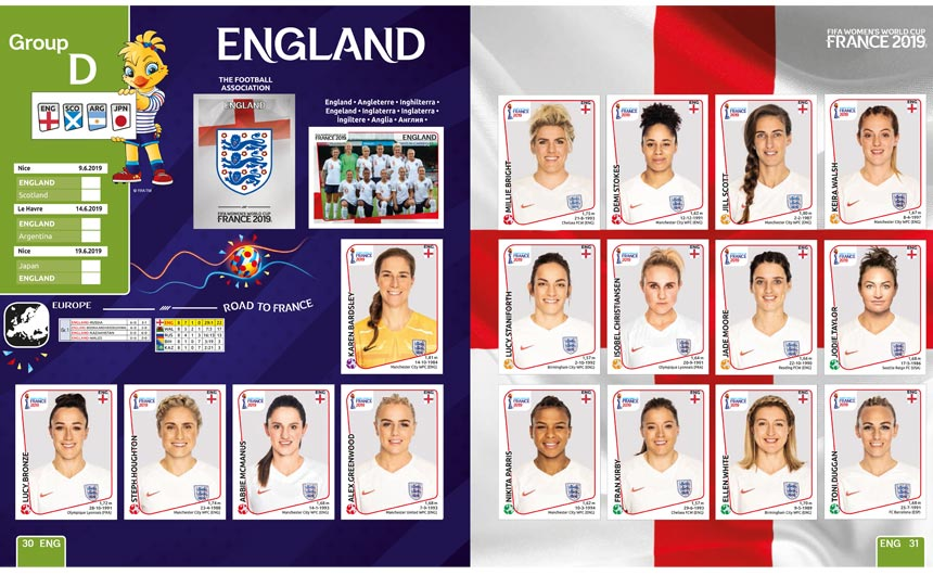 Panini worked hard on a number of activations in the lead up to the Women's World Cup.