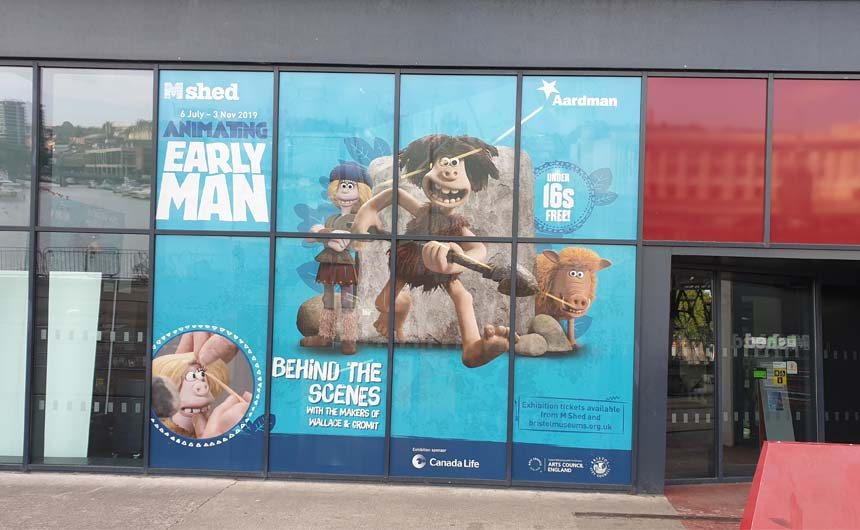 Bristol's M Shed is hosting a behind the scenes exhibition of Aardman's Early Man.