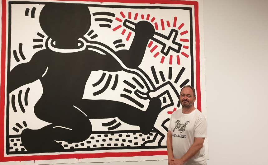 Tate Liverpool has an exhibition of the work of Keith Haring running currently.