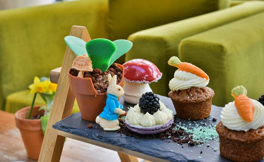 Le Meridien Piccadilly hotel is hosting special Peter Rabbit Afternoon Teas.
