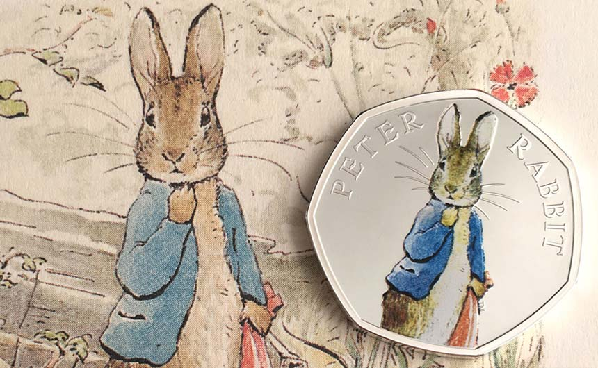 Penguin Ventures worked with Royal Mint on Beatrix Potter commemorative coins.