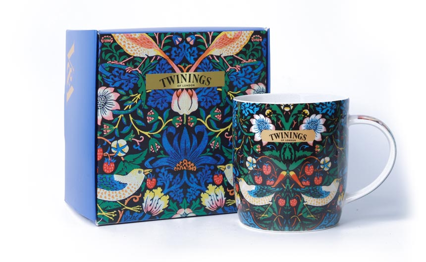 V&A collaborated with fellow British brand Twinings last year.