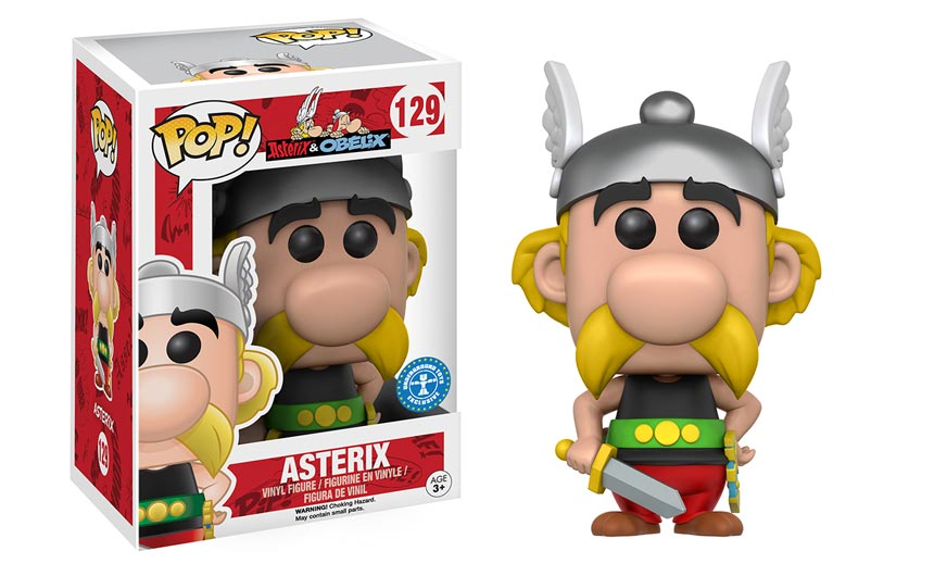 Think about where you can add value to classic properties, like this Funko deal for Asterix.