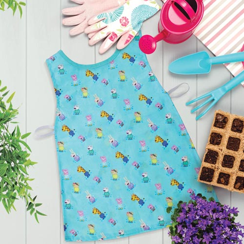 The Peppa Pig collection has expanded with a new messy play range.