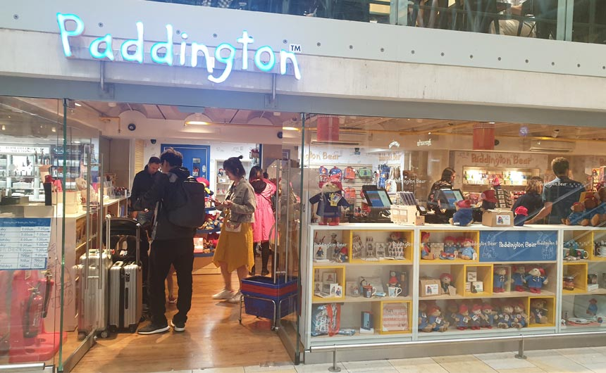 The official Paddington shop in Oxford appears to be thriving.