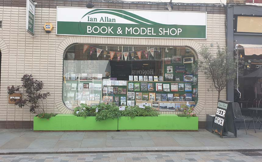 The Ian Allan Bookshop specialises in books and related products featuring trains, buses, aviation and military history.