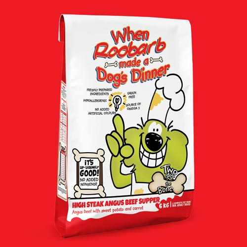 TLP's online pet shop Two Near the Bone will sell the Roobarb and Custard licensed dog food DTC.