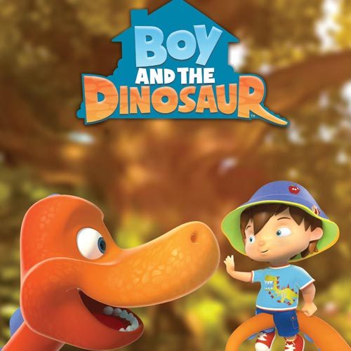 Boy and the Dinosaur is currently in production and bought Russell back into licensing.