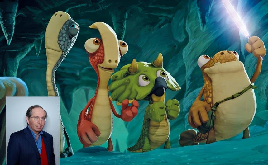 Gignatosurus is about friendship, adventure, autonomy, curiosity, says Pierre.
