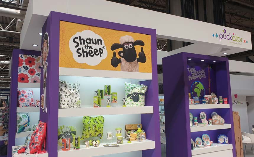 Puckator has grown its Shaun the Sheep range into a broader gifting offer.