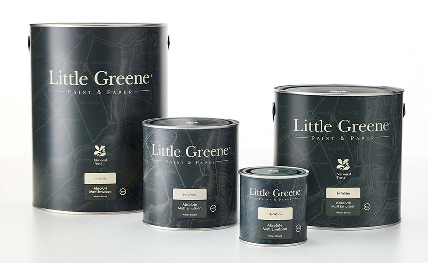 Little Greene has a successful partnership with the National Trust.