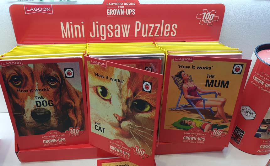 Lagoon has launched a range of classic Ladybird Books jigsaw puzzles.