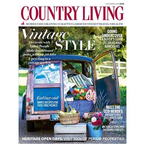 Country Living is a brand which has embraced licensing and partnership deals.