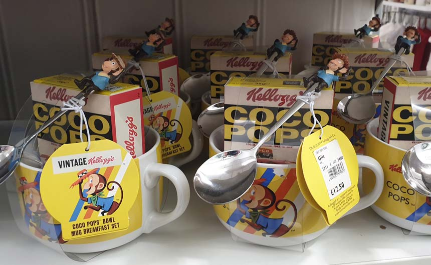 Kellogg's brands feature heavily in the Debenhams' offer.