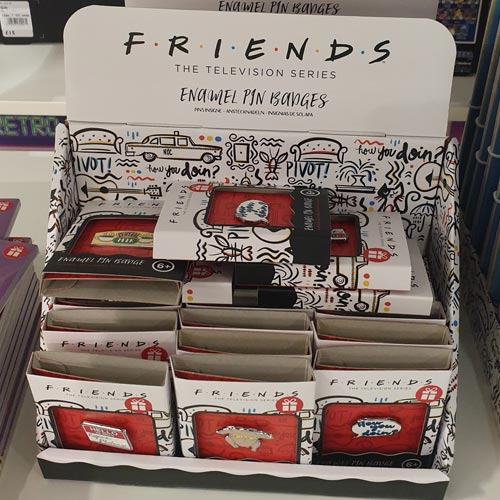Gift ranges for brands such as Friends are also being supported by Debenhams.