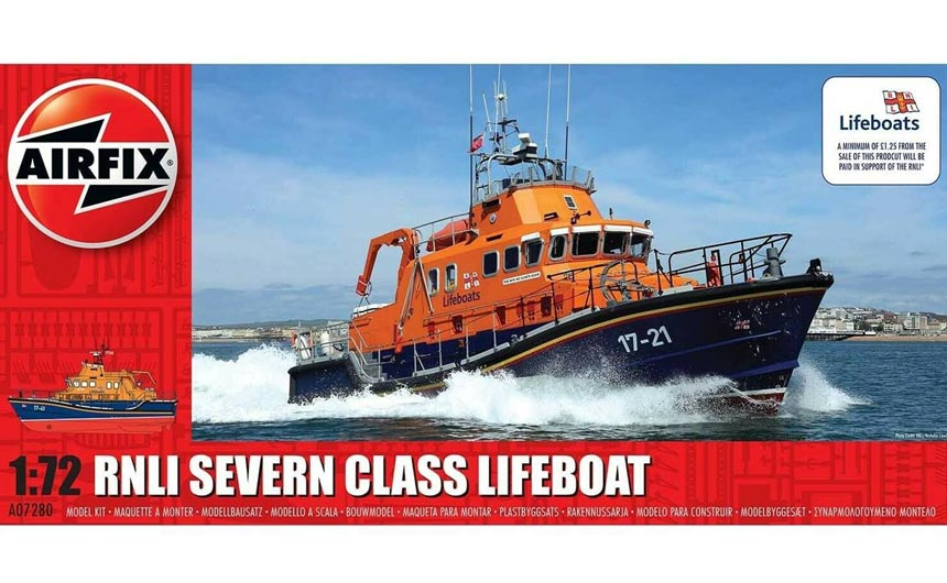 The RNLI is working with Airfix with a special model kit.