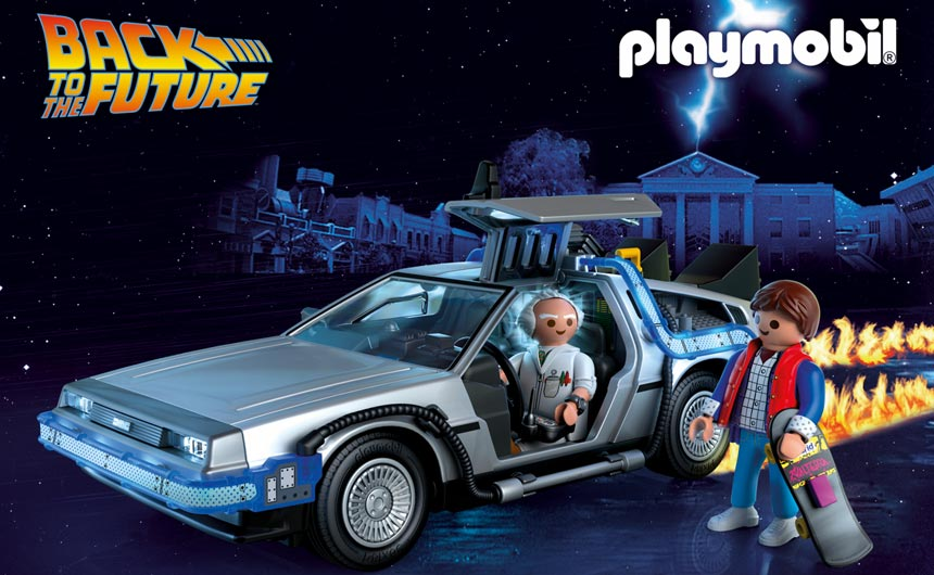 Playmobil was among the collaborators for Back to the Future's 35th anniversary.