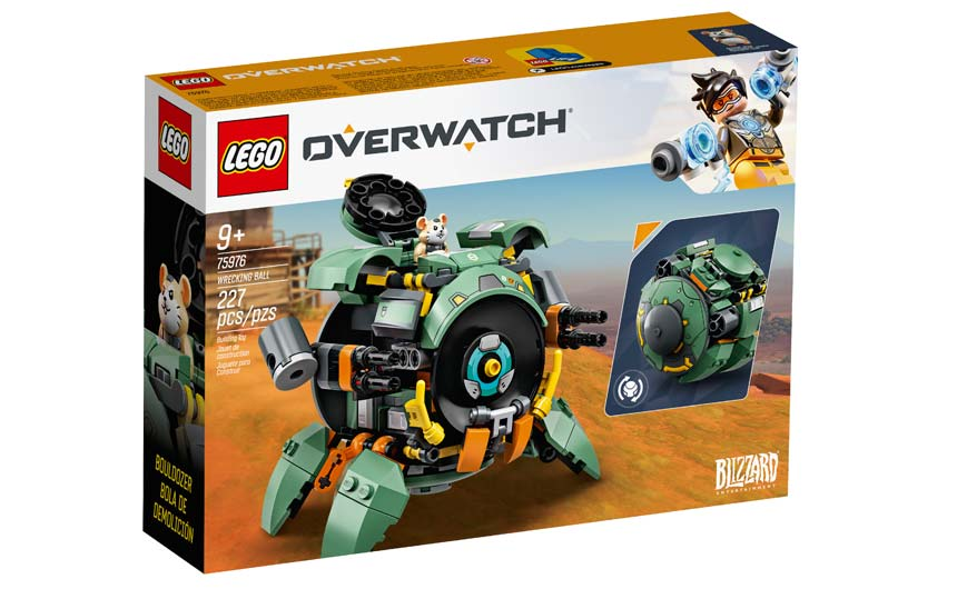 LEGO is one of the key toy partners for Overwatch.