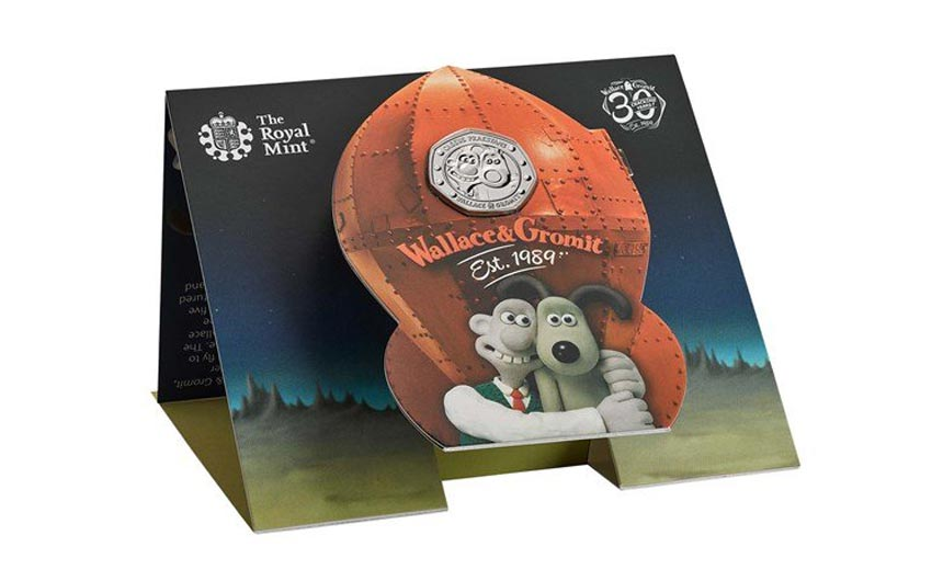 Royal Mint's work with Wallace & Gromit is a great example of how licensing can open doors.
