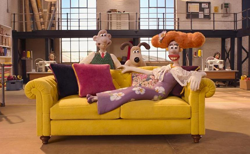 Aardman has enjoyed a strong year when it comes to advertising campaigns including the most recent one with DFS.