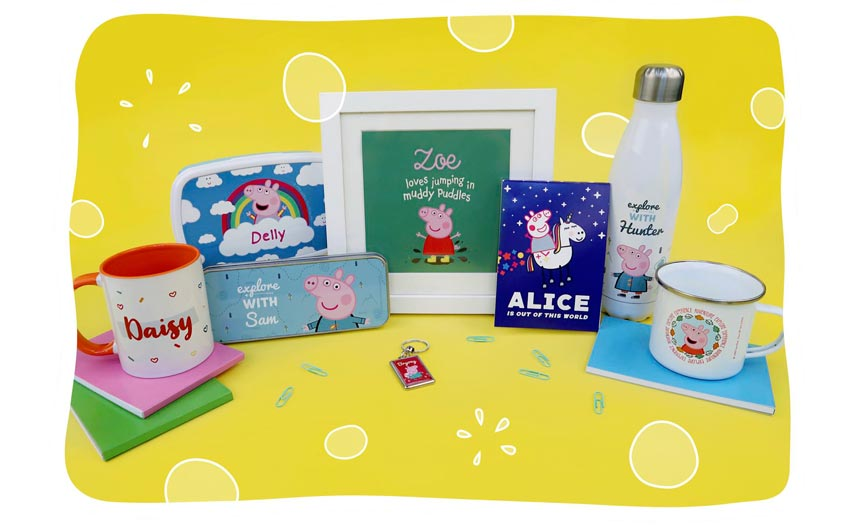 Star Editions is launching the first Peppa Pig online shopping destination.