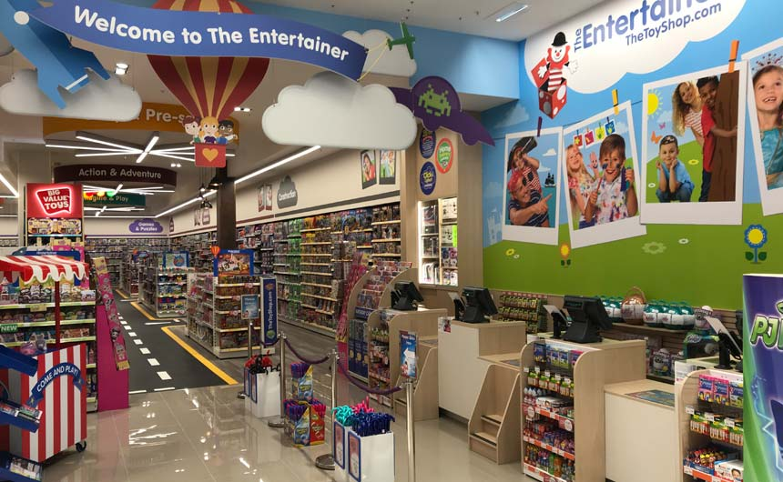 The Entertainer continues to invest in providing a customer-rich experience in its stores.