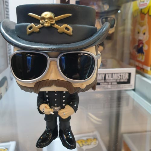 Lemmy was a highlight on the Funko stand.