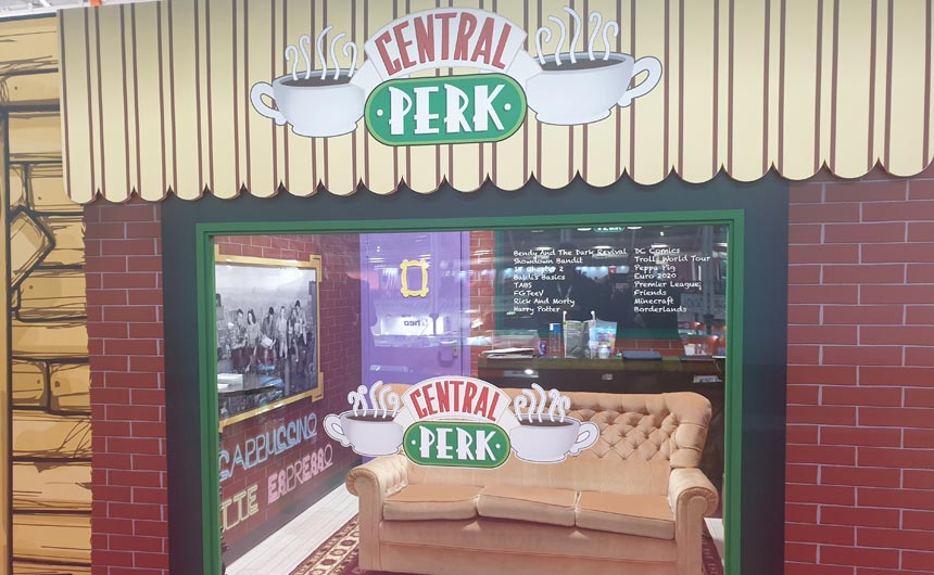Click Distribution launched a range of Friends products by recreating Central Perk.