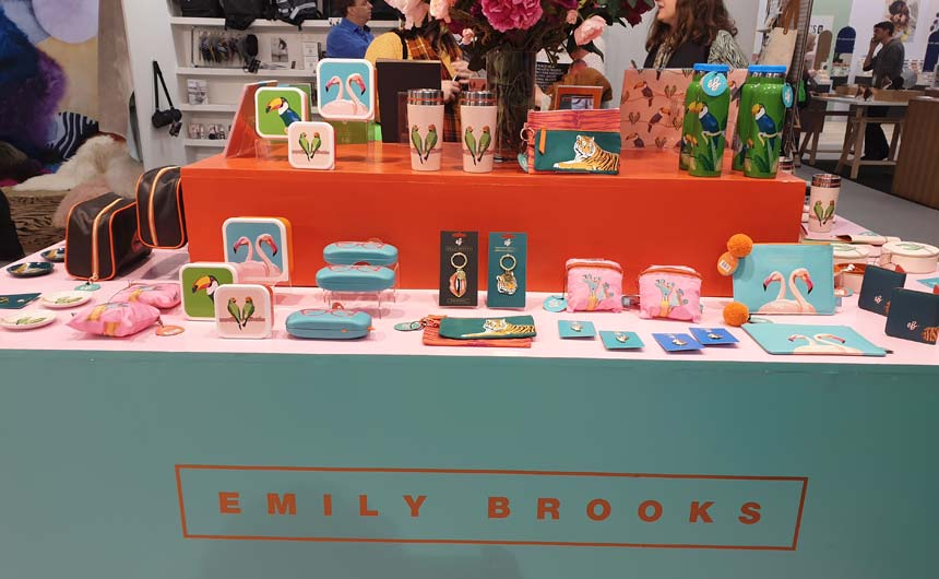 Emily Brooks has enjoyed success with her designs in the greeting cards space.