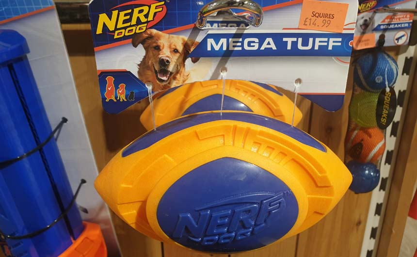 The Nerf dog toy range is a great example of lateral thinking and developing a new market.