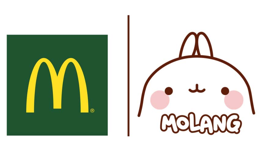 The six-week promotion with McDonald's saw Molang featured in over 1,450 restaurants across France.