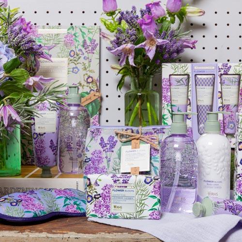 RHS Flower Blooms Lavender Garden Hand Cream