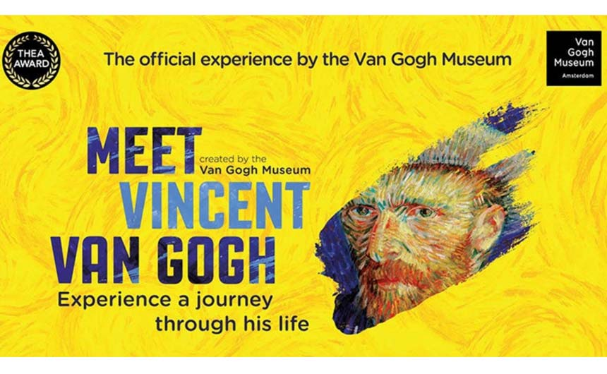 Meet Vincent Van Gogh will arrive on London's Southbank from February 7 to May 21.