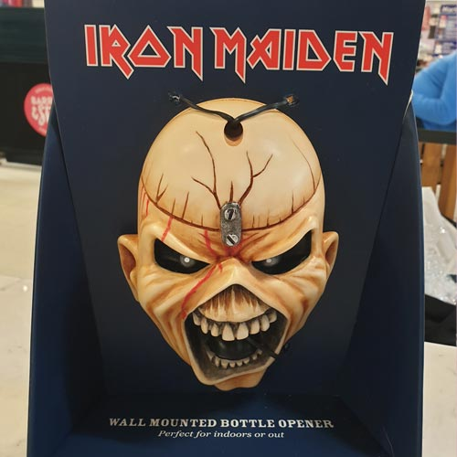 Beer Buddies has upgraded the Iron Maiden beer bottle opener.