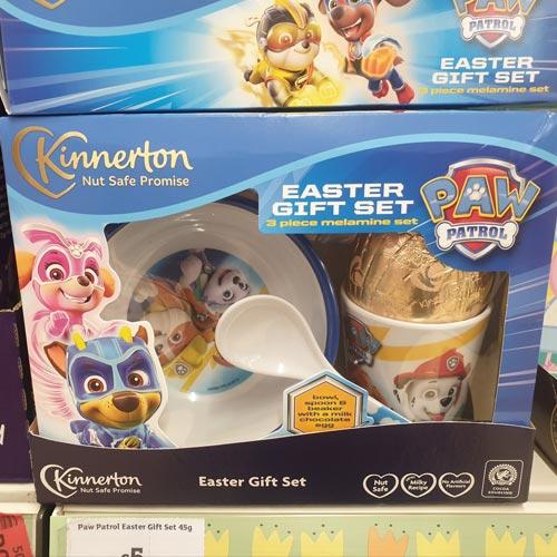 Kinnerton's range includes eggs which come with ceramics.