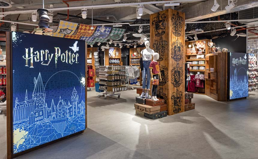 Primark has worked closely with Warner Bros. on its Harry Potter product and experiences.