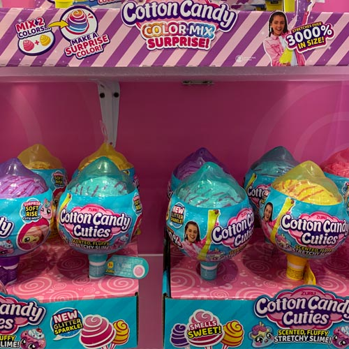 Candy was still a key trend on the show floor.