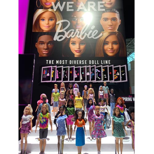 Mattel grew its Barbie diversified collections.
